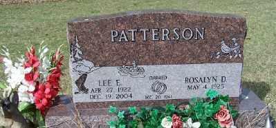 PATTERSON, LEE E. - Mecosta County, Michigan | LEE E. PATTERSON - Michigan Gravestone Photos