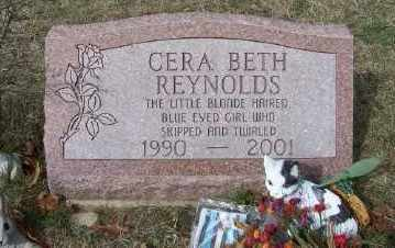 REYNOLDS, CERA BETH - Mecosta County, Michigan | CERA BETH REYNOLDS - Michigan Gravestone Photos