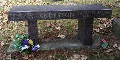 ANDERSON, MARGARET - Mecosta County, Michigan | MARGARET ANDERSON - Michigan Gravestone Photos