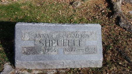 SHEUFELT, ANNA - Saginaw County, Michigan   ANNA SHEUFELT - Michigan Gravestone Photos