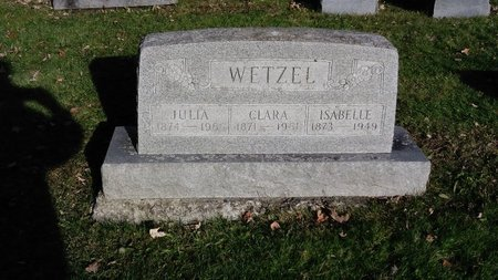 WETZEL, CLARA - Saginaw County, Michigan | CLARA WETZEL - Michigan Gravestone Photos