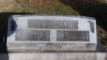 SASSE WIECHMANN, EMMA A - Saginaw County, Michigan | EMMA A SASSE WIECHMANN - Michigan Gravestone Photos