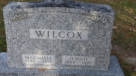WILCOX, MARSHALL - Saginaw County, Michigan | MARSHALL WILCOX - Michigan Gravestone Photos