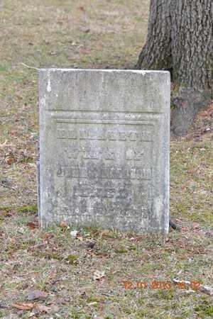 ANDERSON, ELIZABETH - St. Joseph County, Michigan   ELIZABETH ANDERSON - Michigan Gravestone Photos