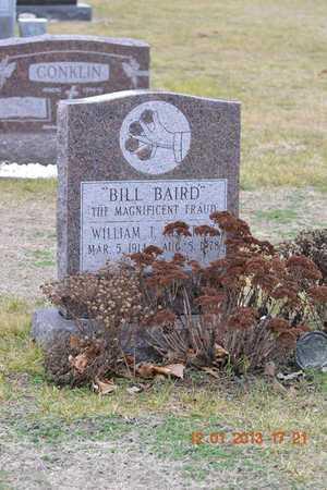 BAIRD, BILL - St. Joseph County, Michigan | BILL BAIRD - Michigan Gravestone Photos