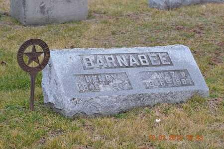 BARNABEE, HENRY - St. Joseph County, Michigan | HENRY BARNABEE - Michigan Gravestone Photos