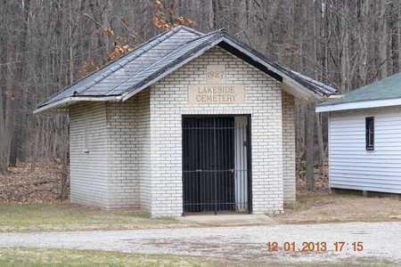 BUILDING, CEMETERY - St. Joseph County, Michigan | CEMETERY BUILDING - Michigan Gravestone Photos