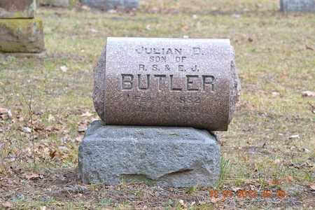 BUTLER, JULIAN D. - St. Joseph County, Michigan | JULIAN D. BUTLER - Michigan Gravestone Photos