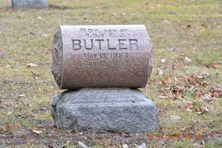BUTLER, ROY - St. Joseph County, Michigan | ROY BUTLER - Michigan Gravestone Photos