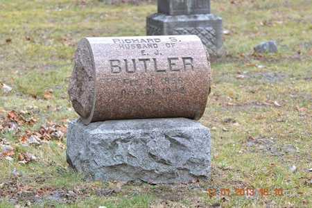 BUTLER, RICHARD S. - St. Joseph County, Michigan | RICHARD S. BUTLER - Michigan Gravestone Photos