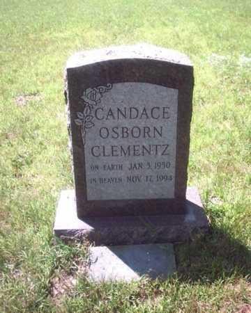 OSBORN CLEMENTZ, CANDACE - St. Joseph County, Michigan | CANDACE OSBORN CLEMENTZ - Michigan Gravestone Photos