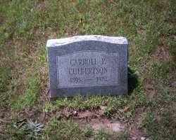CULBERTSON, CARROLL P. - St. Joseph County, Michigan | CARROLL P. CULBERTSON - Michigan Gravestone Photos