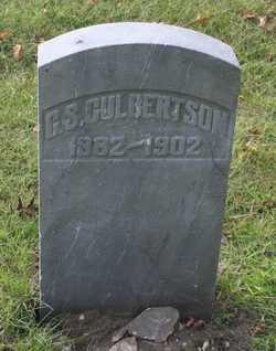 CULBERTSON, C.S. - St. Joseph County, Michigan | C.S. CULBERTSON - Michigan Gravestone Photos