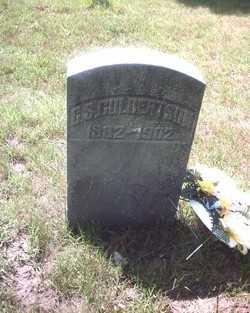 CULBERTSON, G.S. - St. Joseph County, Michigan | G.S. CULBERTSON - Michigan Gravestone Photos