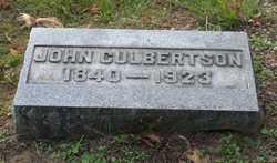 CULBERTSON, JOHN - St. Joseph County, Michigan | JOHN CULBERTSON - Michigan Gravestone Photos