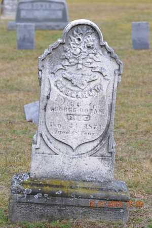 DORAN, MARGARET D. - St. Joseph County, Michigan | MARGARET D. DORAN - Michigan Gravestone Photos