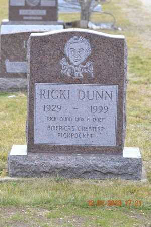 DUNN, RICKI - St. Joseph County, Michigan | RICKI DUNN - Michigan Gravestone Photos