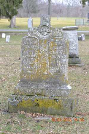 FOSTER, SAPHRONIA W. - St. Joseph County, Michigan | SAPHRONIA W. FOSTER - Michigan Gravestone Photos