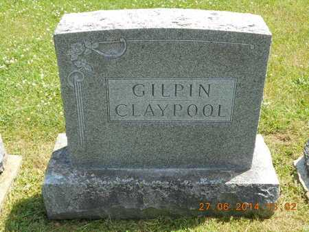 GILPIN, FAMILY - St. Joseph County, Michigan   FAMILY GILPIN - Michigan Gravestone Photos
