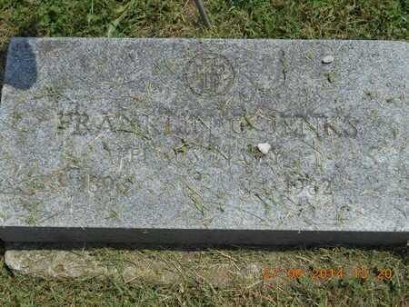 JENKS, FRANKLIN C. - St. Joseph County, Michigan | FRANKLIN C. JENKS - Michigan Gravestone Photos