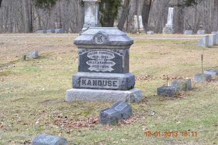 KANOUSE, SALLY A. - St. Joseph County, Michigan | SALLY A. KANOUSE - Michigan Gravestone Photos