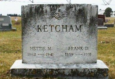 KETCHAM, FRANKLIN D. - St. Joseph County, Michigan   FRANKLIN D. KETCHAM - Michigan Gravestone Photos