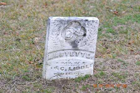 LIDDLE, MARYETTE - St. Joseph County, Michigan | MARYETTE LIDDLE - Michigan Gravestone Photos