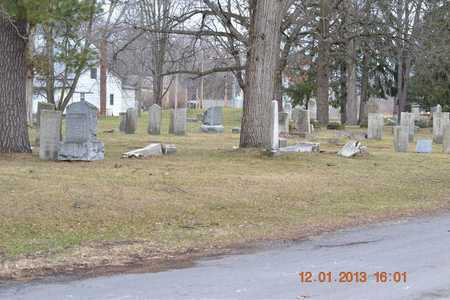 OVERVIEW, CEMETERY - St. Joseph County, Michigan | CEMETERY OVERVIEW - Michigan Gravestone Photos