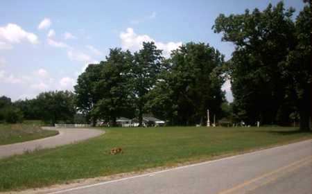 OVERVIEW, CEMETERY - St. Joseph County, Michigan   CEMETERY OVERVIEW - Michigan Gravestone Photos