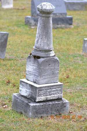 TELLER ROCKWOOD, MARGARET ANN - St. Joseph County, Michigan | MARGARET ANN TELLER ROCKWOOD - Michigan Gravestone Photos