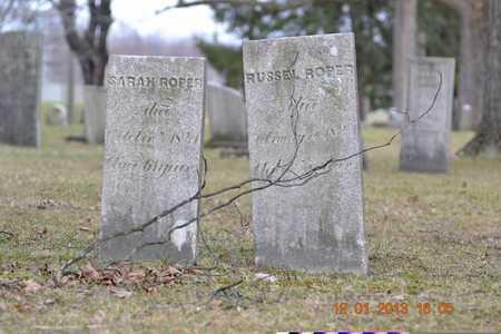 ROPER, RUSSELL - St. Joseph County, Michigan | RUSSELL ROPER - Michigan Gravestone Photos
