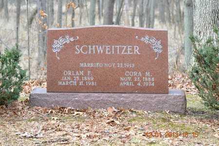 SCHWEITZER, ORLAN F. - St. Joseph County, Michigan | ORLAN F. SCHWEITZER - Michigan Gravestone Photos