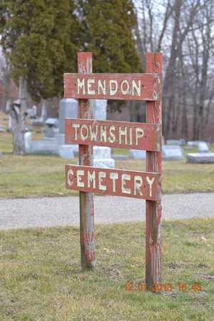 SIGN, CEMETERY - St. Joseph County, Michigan | CEMETERY SIGN - Michigan Gravestone Photos