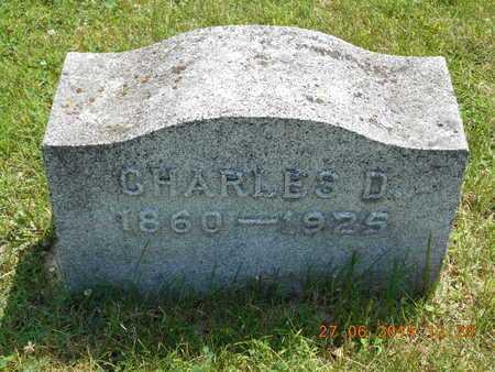 WILLIAMS, CHARLES D. - St. Joseph County, Michigan | CHARLES D. WILLIAMS - Michigan Gravestone Photos
