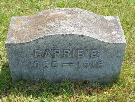 WILLIAMS, CARRIE E. - St. Joseph County, Michigan | CARRIE E. WILLIAMS - Michigan Gravestone Photos