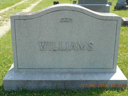 WILLIAMS, FAMILY - St. Joseph County, Michigan | FAMILY WILLIAMS - Michigan Gravestone Photos