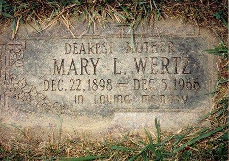 WERTZ, MARY L - Wayne County, Michigan | MARY L WERTZ - Michigan Gravestone Photos