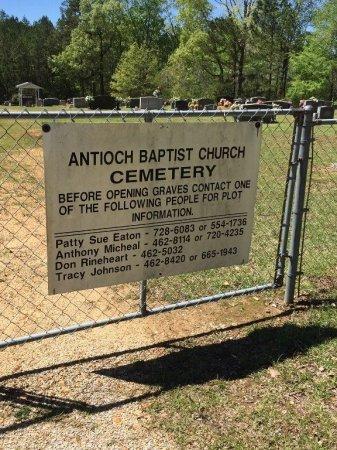 *ANTIOCH #2 BAPTIST, CHURCH - Alcorn County, Mississippi | CHURCH *ANTIOCH #2 BAPTIST - Mississippi Gravestone Photos