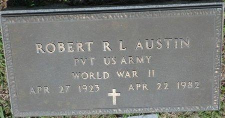 AUSTIN SR (VETERAN WWII), ROBERT LEE (NEW) - Alcorn County, Mississippi   ROBERT LEE (NEW) AUSTIN SR (VETERAN WWII) - Mississippi Gravestone Photos