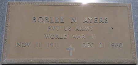 AYERS (VETERAN WWII), BOBLEE N (NEW) - Alcorn County, Mississippi   BOBLEE N (NEW) AYERS (VETERAN WWII) - Mississippi Gravestone Photos