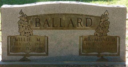BALLARD, WILLIE M - Alcorn County, Mississippi | WILLIE M BALLARD - Mississippi Gravestone Photos