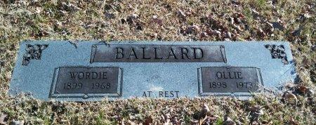 STUART BALLARD, OLLIE BEATRICE - Alcorn County, Mississippi | OLLIE BEATRICE STUART BALLARD - Mississippi Gravestone Photos