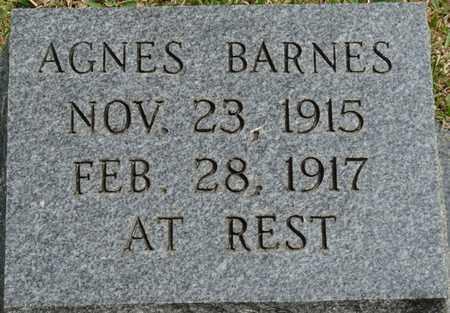 BARNES, AGNES - Alcorn County, Mississippi | AGNES BARNES - Mississippi Gravestone Photos