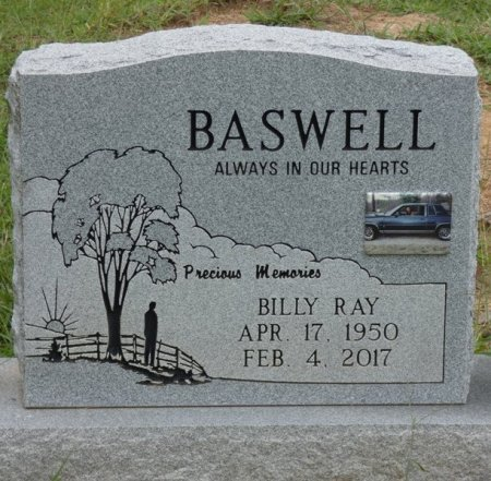 BASWELL, BILLY RAY - Alcorn County, Mississippi | BILLY RAY BASWELL - Mississippi Gravestone Photos