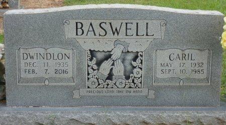 "BASWELL, DWINDLON ""GWEN"" - Alcorn County, Mississippi   DWINDLON ""GWEN"" BASWELL - Mississippi Gravestone Photos"
