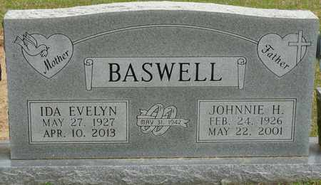 BASWELL, IDA EVELYN - Alcorn County, Mississippi | IDA EVELYN BASWELL - Mississippi Gravestone Photos