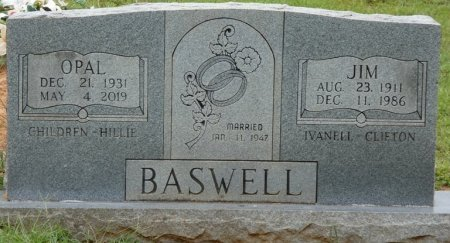 BASWELL, JIM - Alcorn County, Mississippi | JIM BASWELL - Mississippi Gravestone Photos