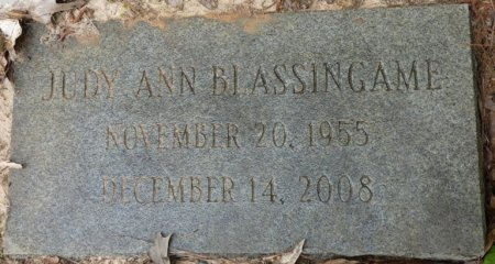BLASSINGAME, JUDY ANN - Alcorn County, Mississippi   JUDY ANN BLASSINGAME - Mississippi Gravestone Photos