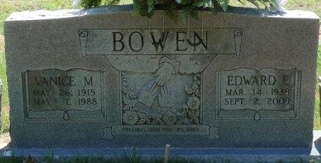 BOWEN, EDWARD E - Alcorn County, Mississippi | EDWARD E BOWEN - Mississippi Gravestone Photos