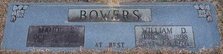 BOWERS, MAUDE S - Alcorn County, Mississippi | MAUDE S BOWERS - Mississippi Gravestone Photos